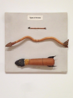 Types of Arrows, 1985/6.