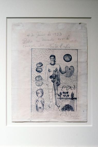 Frida Khalo Diego Rivera Wystawowe Zwierze (11)