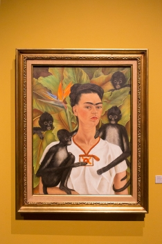 Frida Khalo Diego Rivera Wystawowe Zwierze (3)