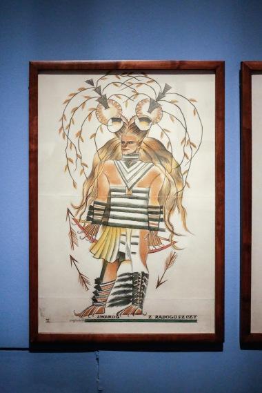 wystawa Muzeum Narodowe w Warszawie malarstwo Zofia Stryjeńska